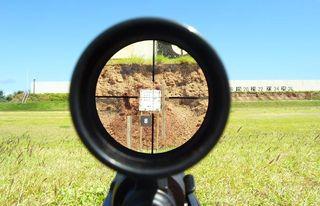 View thru scope